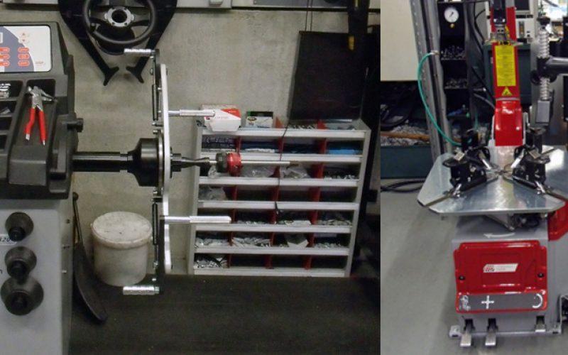 Nieuw banden apparatuur bij Damen Motoren